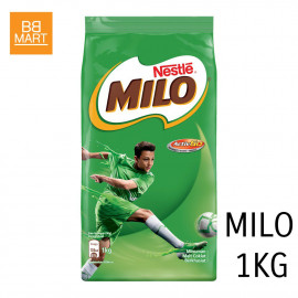 image of Nestle MILO Activ-Go Chocolate Malt Powder Soft Pack (1kg)