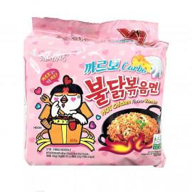 image of Samyang Hot Chicken - Carbonara Ramen (140g x 5)
