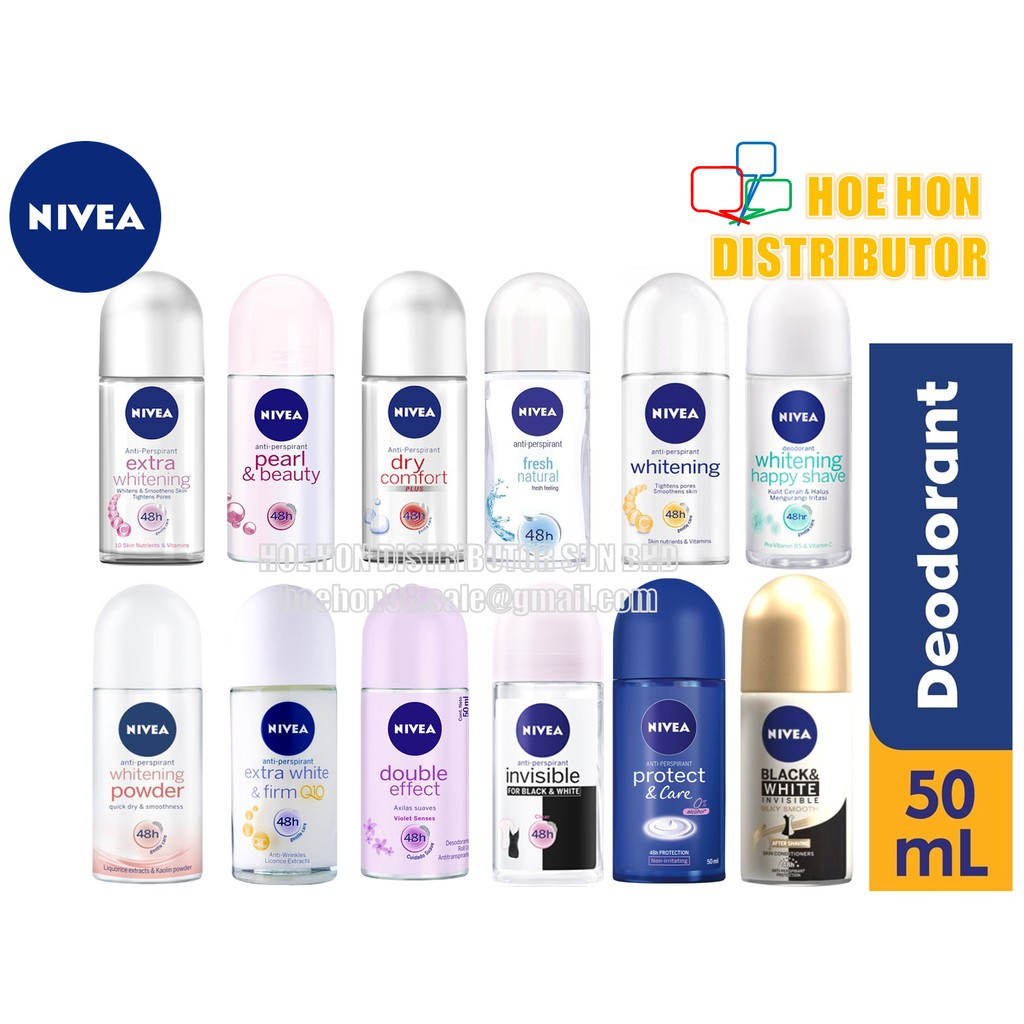 Nivea Women Deodorant Roll On 50ml