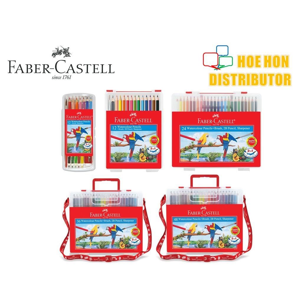 image of Faber Castell Wonder Box Water Color Pencil 12c 24c 36c 48c Faber-Castell Colour