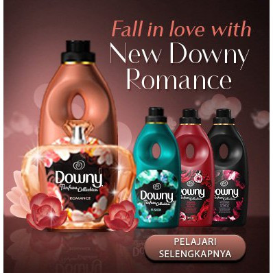 Downy Baby Gentle Passion, Mystique, Romance, Sunrise Fresh, Garden Bloom