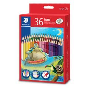 Staedtler Luna Colour / Color/ Coloured / Jumbo Pencil 12S 12L 24 36 48 Warna
