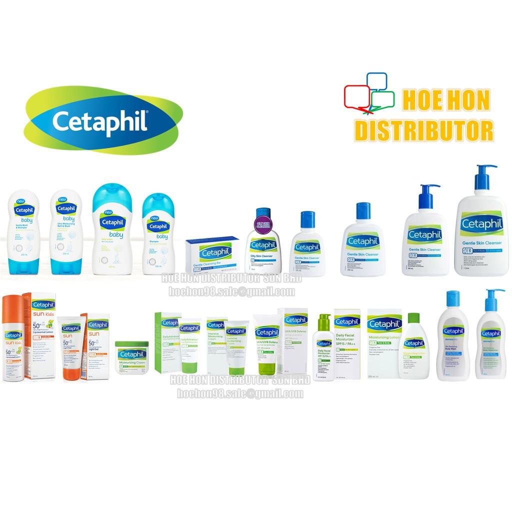 Cetaphil Baby Restoraderm Sun Cleanser Moisturizer Moisturiser Lotion Cream ALL