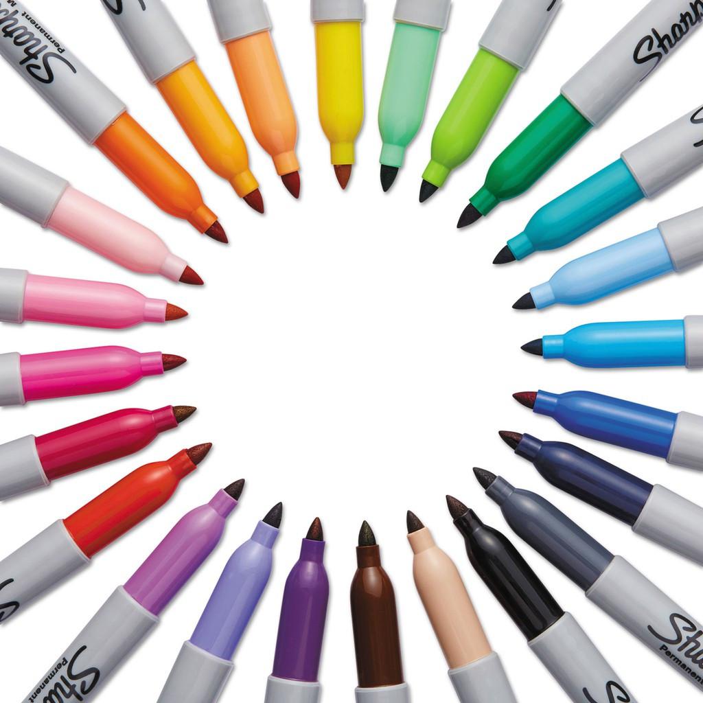 Sharpie Fine Point Permanent Marker / Customise Full Color Part 1