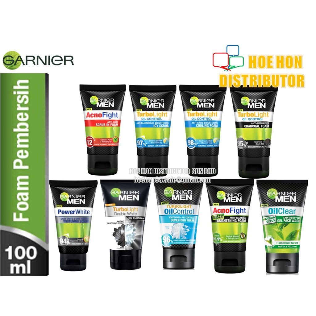 image of Garnier MEN Facial Foam / Cleanser (Pembersih Muka) 100ml