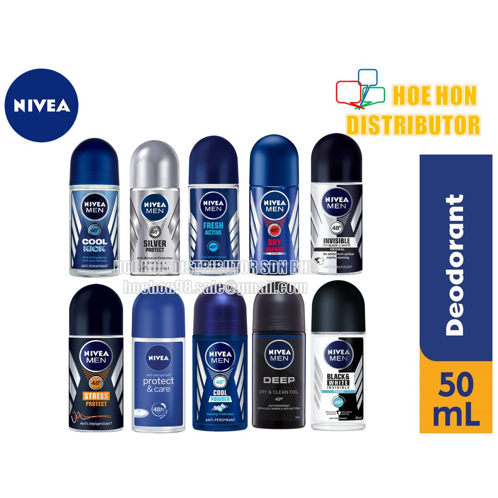 image of Nivea MEN Deodorant Roll On 50ml