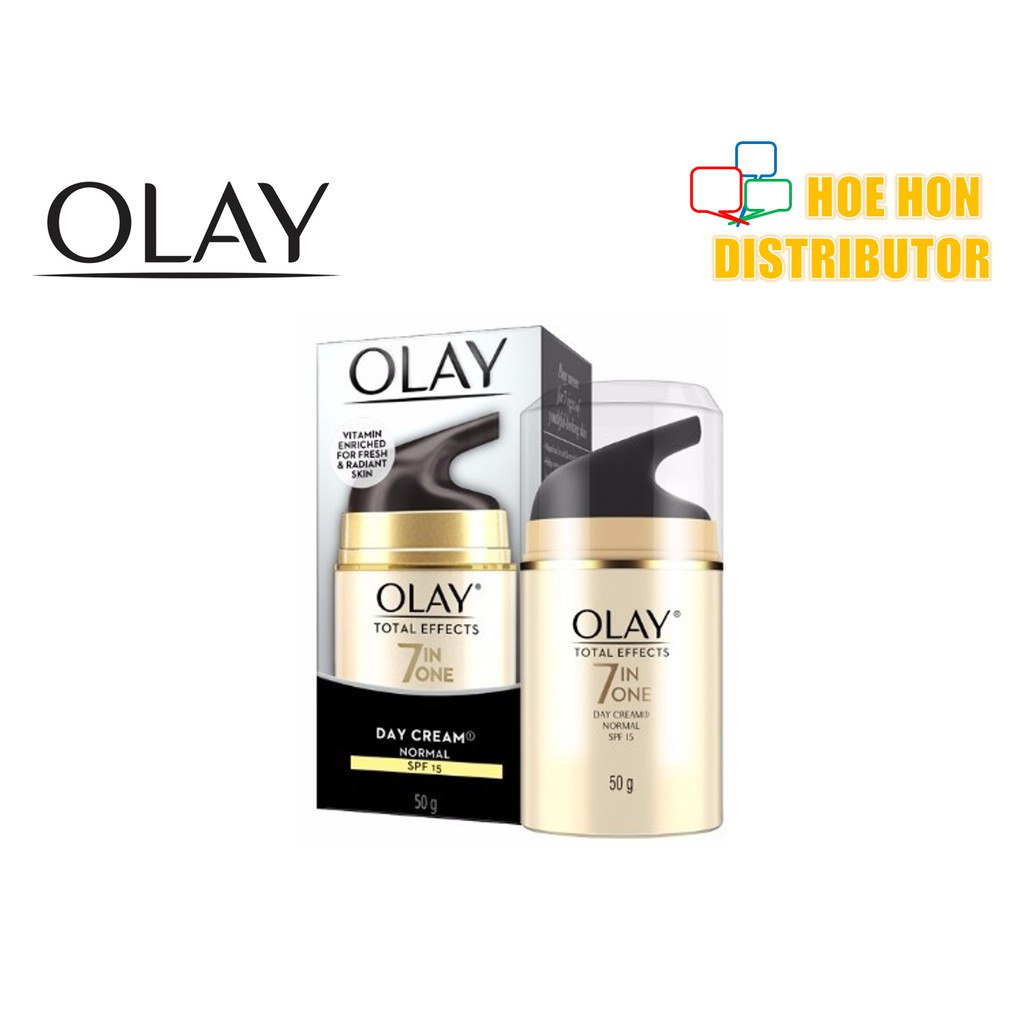 image of Olay Total Effects 7 In 1 Normal Day Cream SPF 15 50g