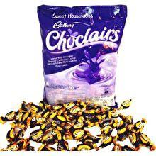 Cadbury Choclairs Chocolate Caramel Candy. Gula Gula Karamel Perisa Coklat
