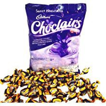 image of Cadbury Choclairs Chocolate Caramel Candy. Gula Gula Karamel Perisa Coklat