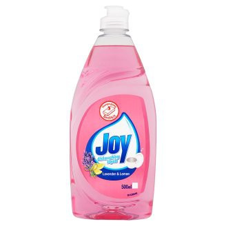 Joy Concentrated Dishwash Liquid Sparkling Lime Refreshing Lemon Anti Bac 500ml
