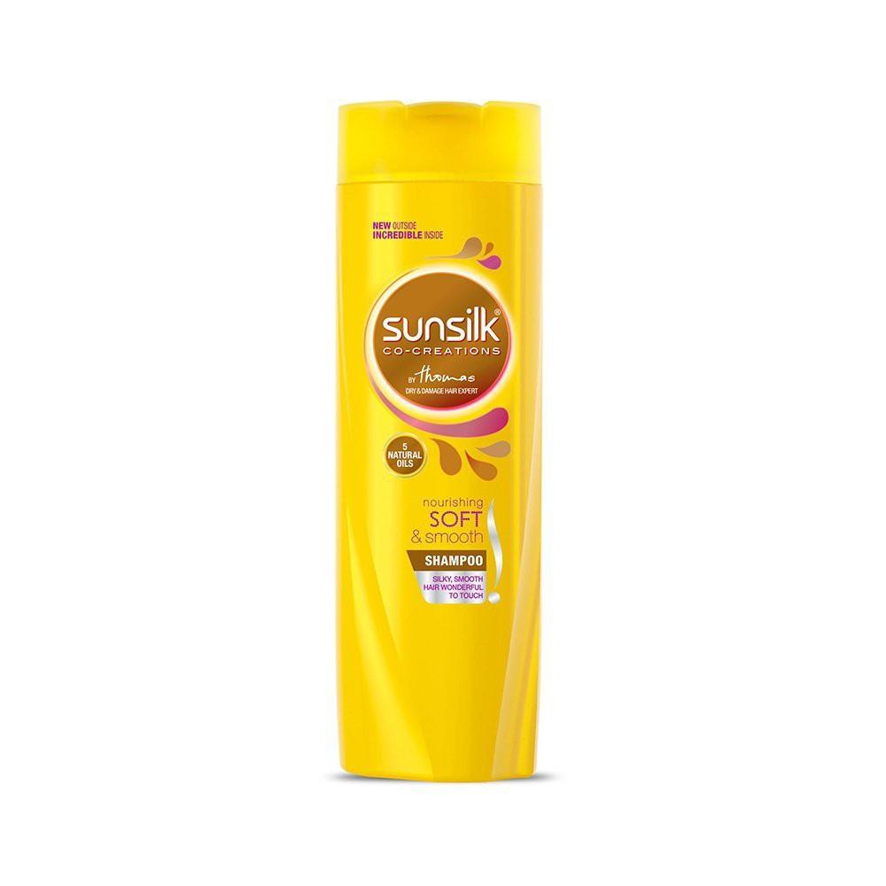 Sunsilk Shampoo 320ml Syampu Rambut Hijab Anti Dandruff, Hairfall Solution