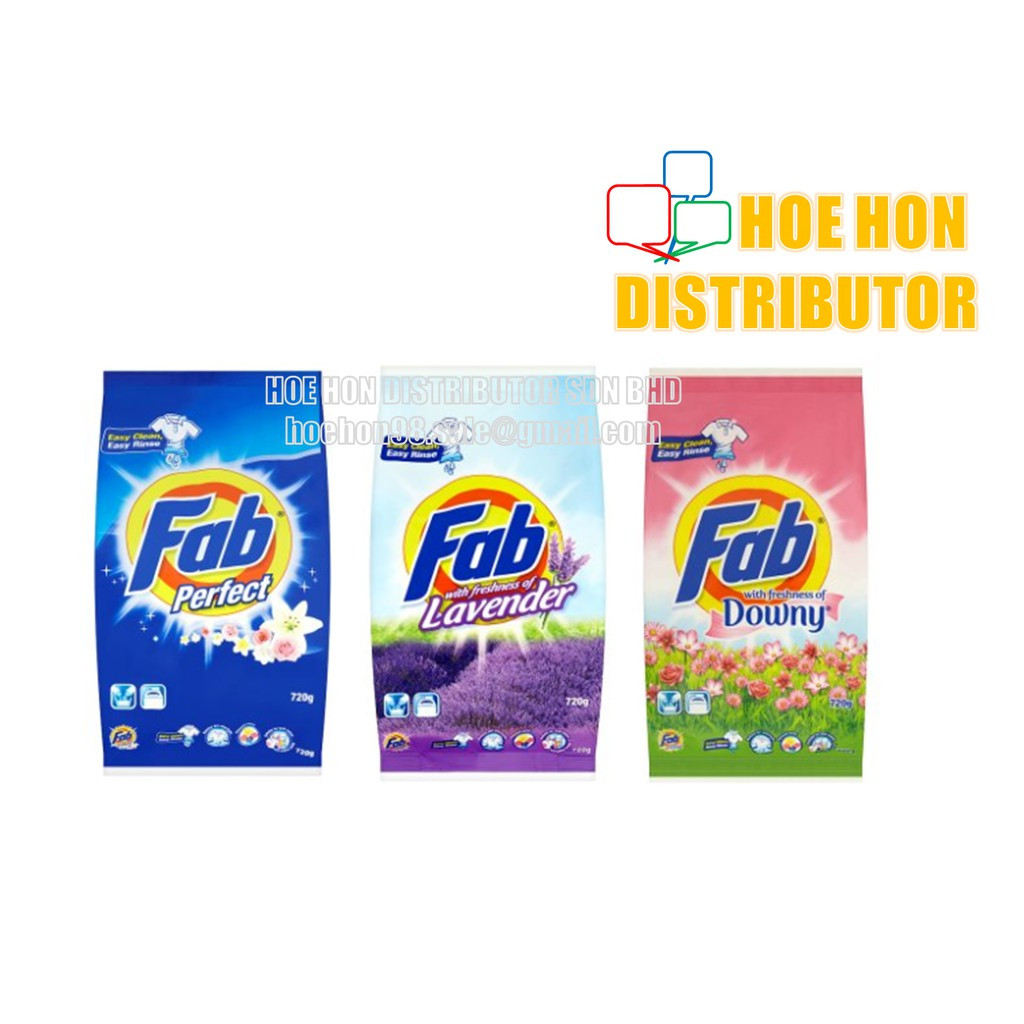 Fab Perfect Freshness Of Downy, Lavender 720g (Fab 800g)