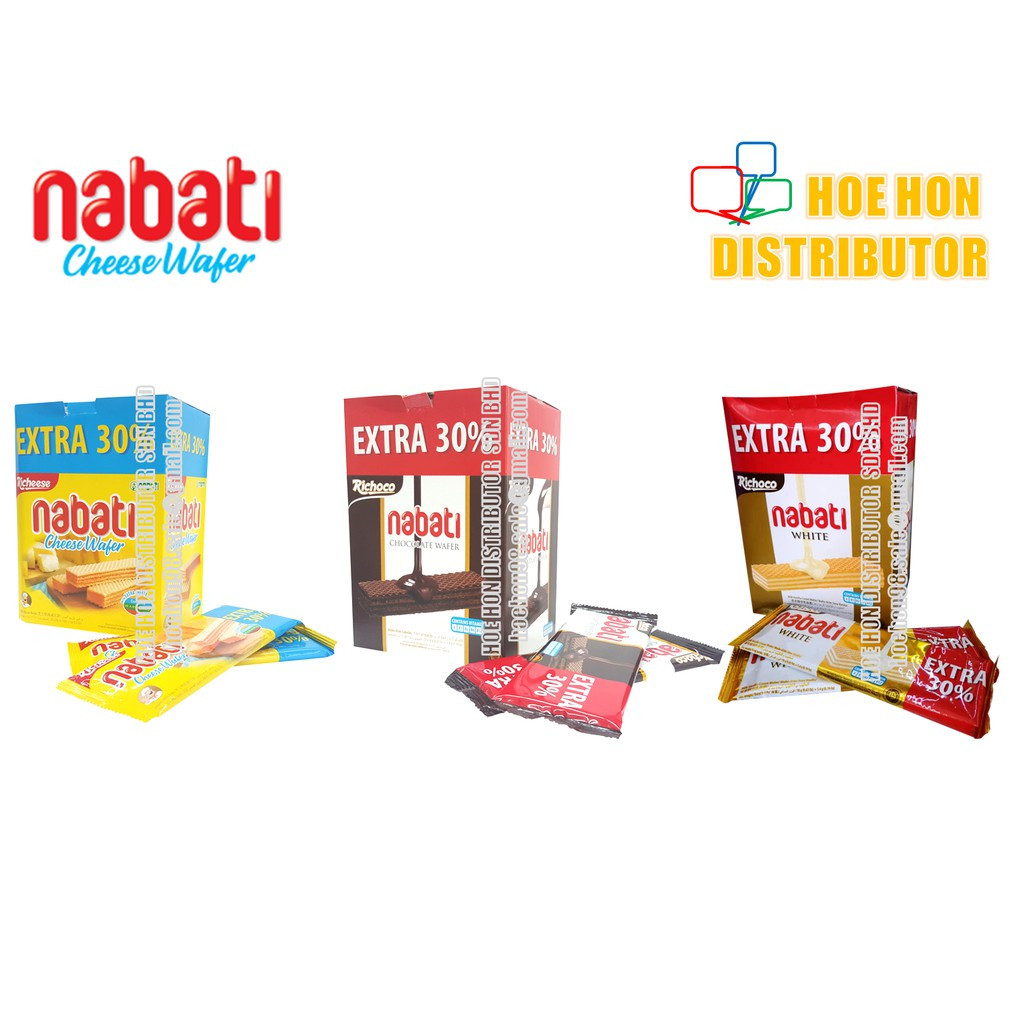 image of Nabati Richeese Cheese Wafer / Richoco Chocolate Wafer [EXTRA 30 %]