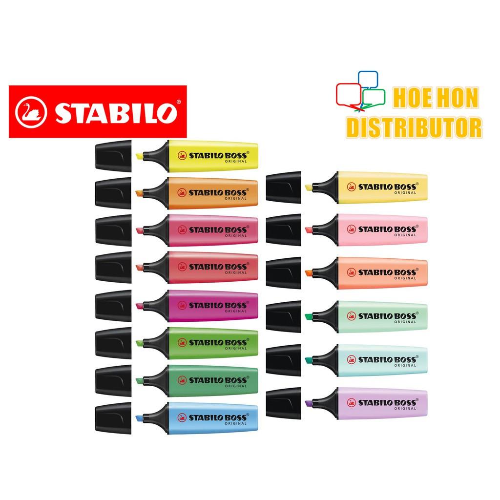 image of Stabilo Boss Original / Pastel Highlighter (Creative Art Text Maker)