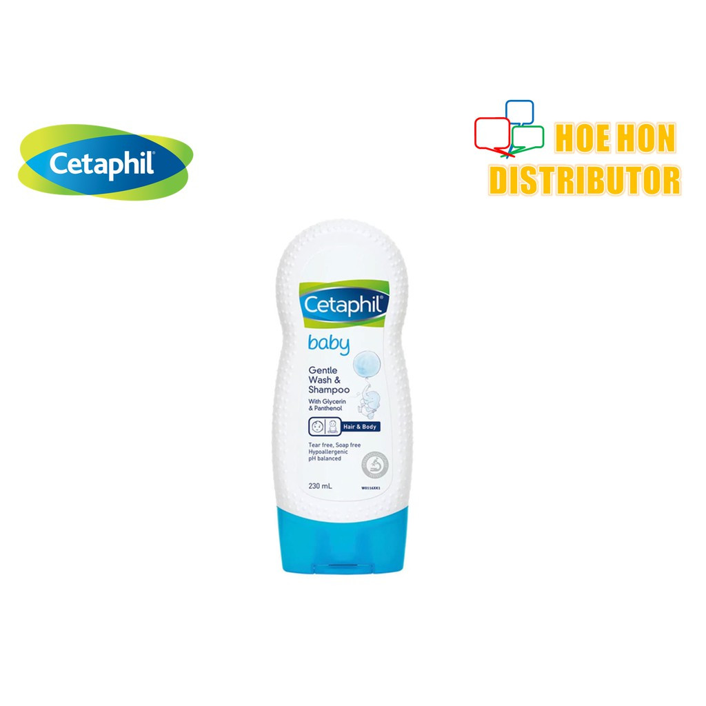 image of Cetaphil Baby Gentle Wash & Shampoo 230ml W0116XK1