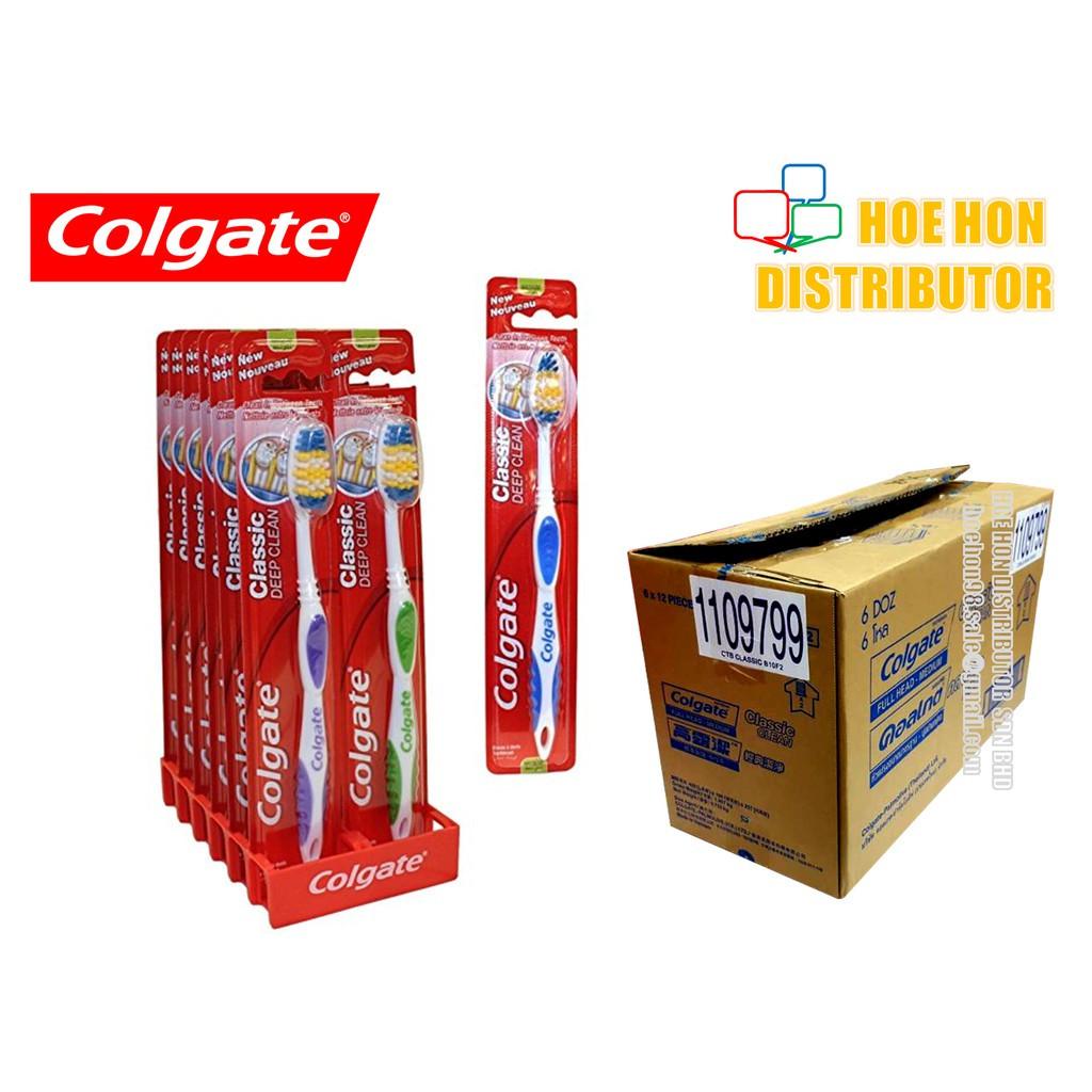 image of Colgate Classic Deep Clean Medium Toothbrush / Berus Gigi Colgate Classic