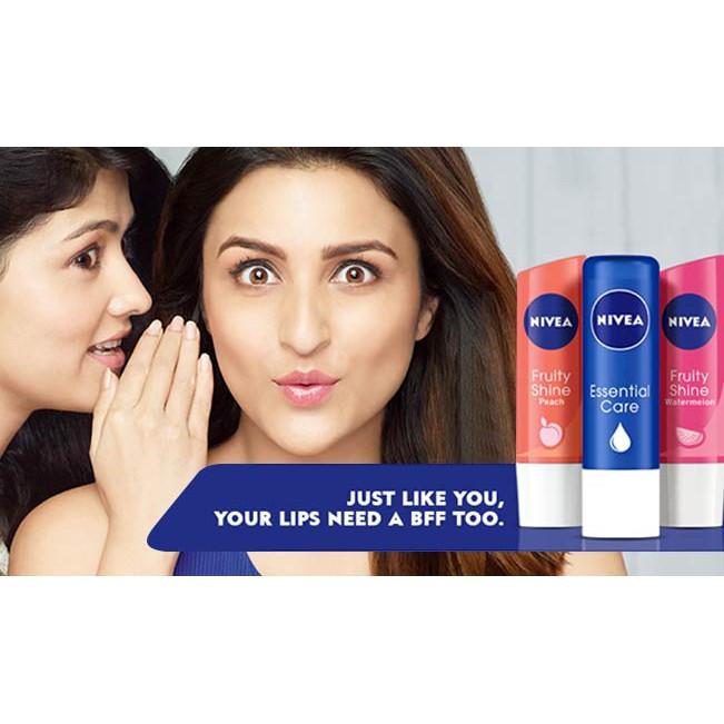 Nivea Caring Lip Balm 4.8g / 5.5ml