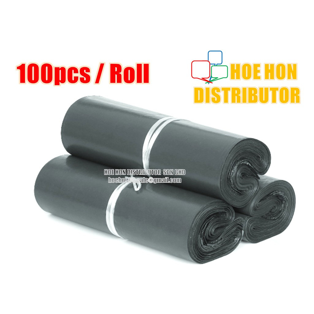 image of Flyer Courier Bag 100 Pcs / Roll (Poslaju Flyer Courier Bag) Sampul Pos 快递包装