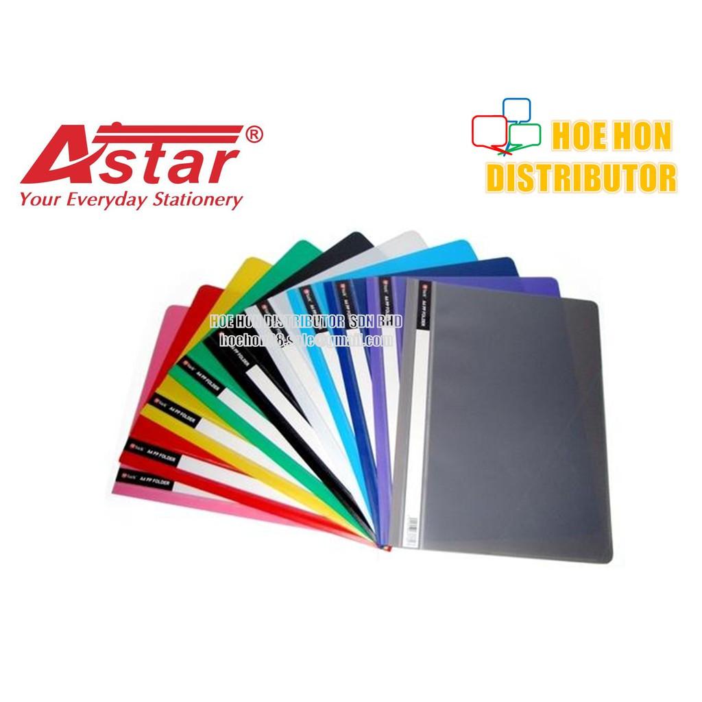 image of Astar Management Report PP PVC File / Folder A4 12pcs
