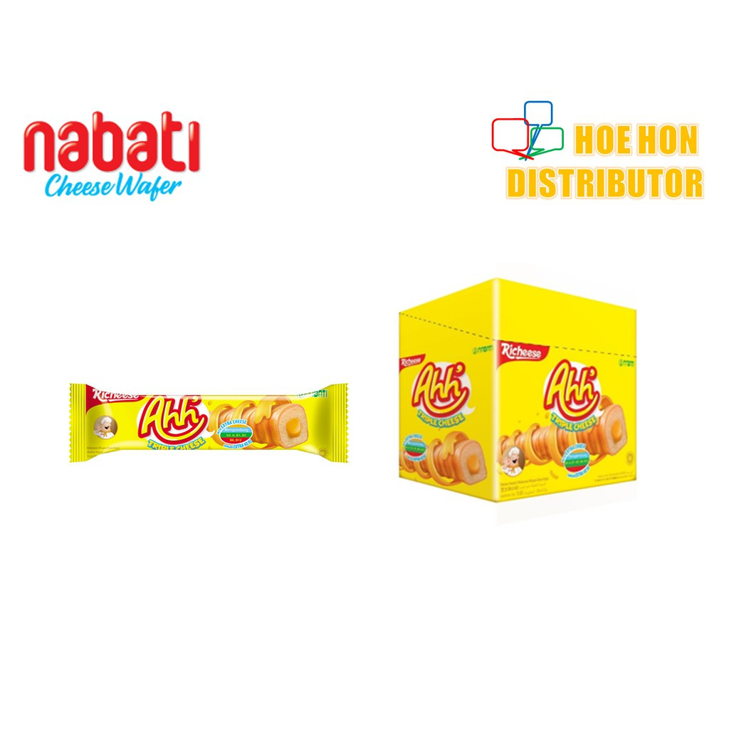 image of Nabati Richeese Ahh Triple Cheese 20s X 5.5g #Nabati Cheese Wafer
