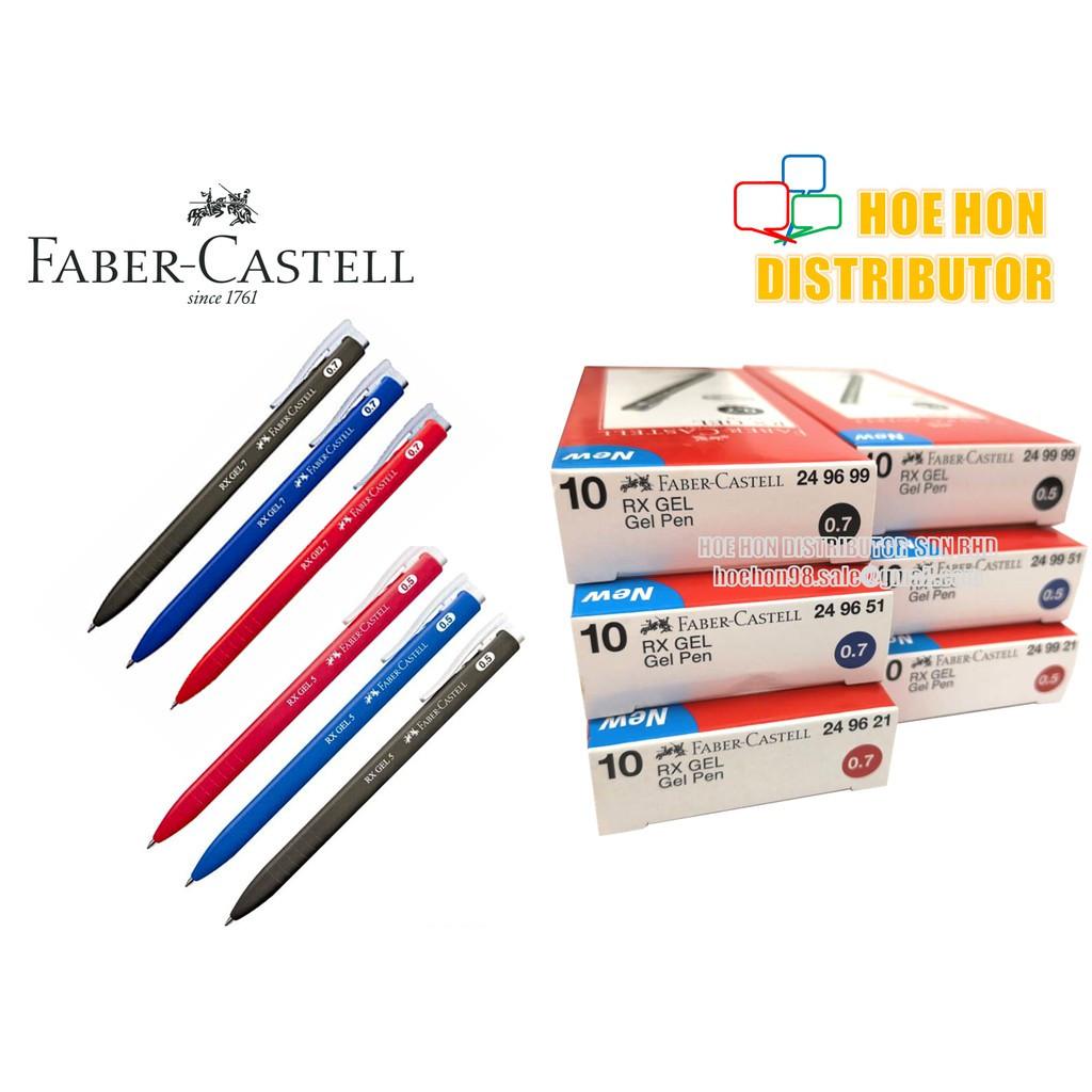 image of Faber Castell / Faber-Castell RX Gel 0.5mm 0.7mm Gel Pen