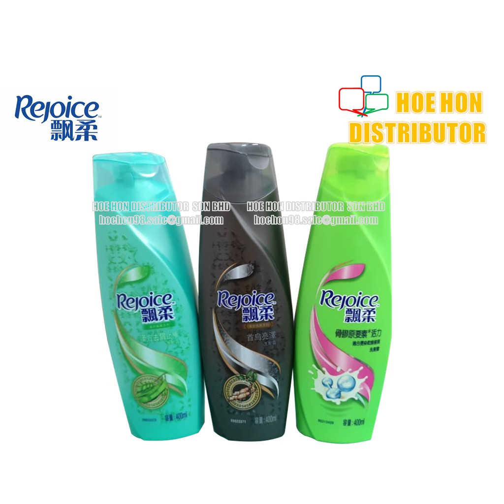 image of Rejoice Chinese Herbs Hair Shampoo 400ml (#320ml) #Herbal Shampoo