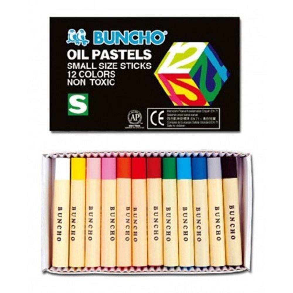 Buncho Oil Pastel / Pastels / Crayon Color / Warna Krayon 12c 16c 24c 36c 48c