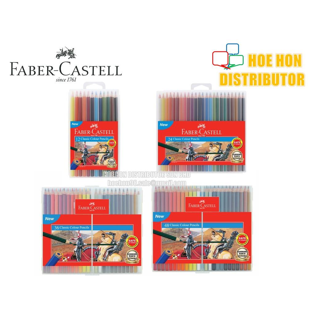 image of Faber-Castell / Faber Castell Slim Flexi Case Classic Colour Pencil 12 24 36 48