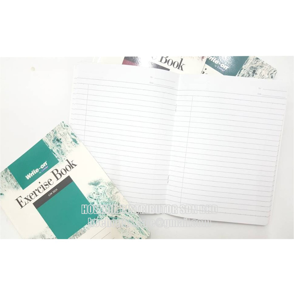 CAMPAP Write-On F5 80p 100p 120p 200p CW 2501 2502 2503 2504 Exercise Note Book