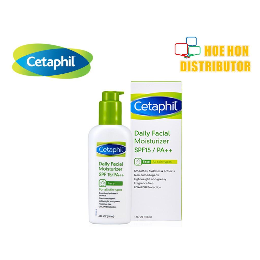 Cetaphil Daily Facial Moisturizer / Moisturiser SPF 15 / PA++ 118ml P51869-1