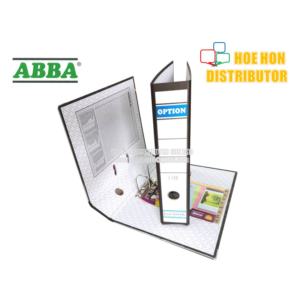 image of ABBA OPTION Lever Arch File Fail 3 Inch / 75mm
