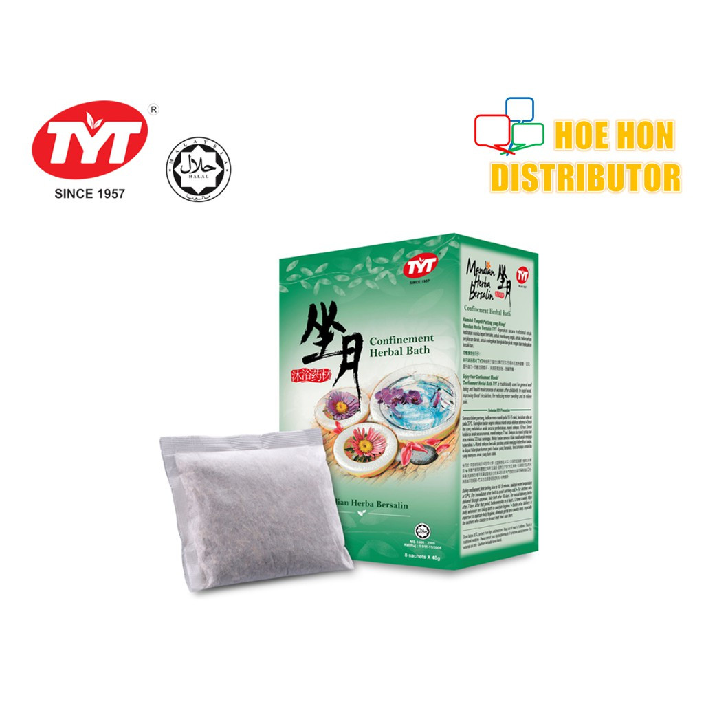 image of TYT Confinement Herbal Bath / Mandian Herba Bersalin 40g X 8 Sachet