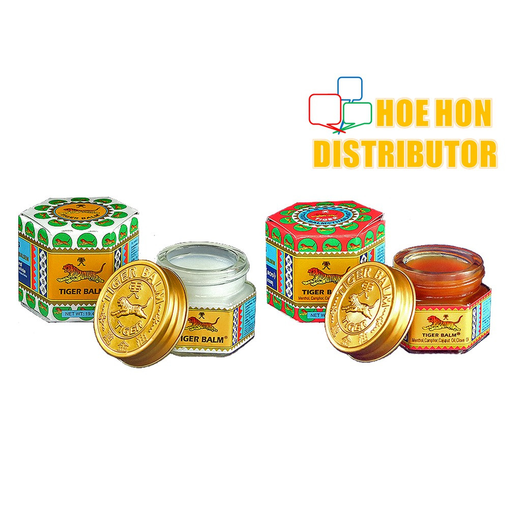 image of Tiger Balm 10G White Ointment / Plus Ointment Rub