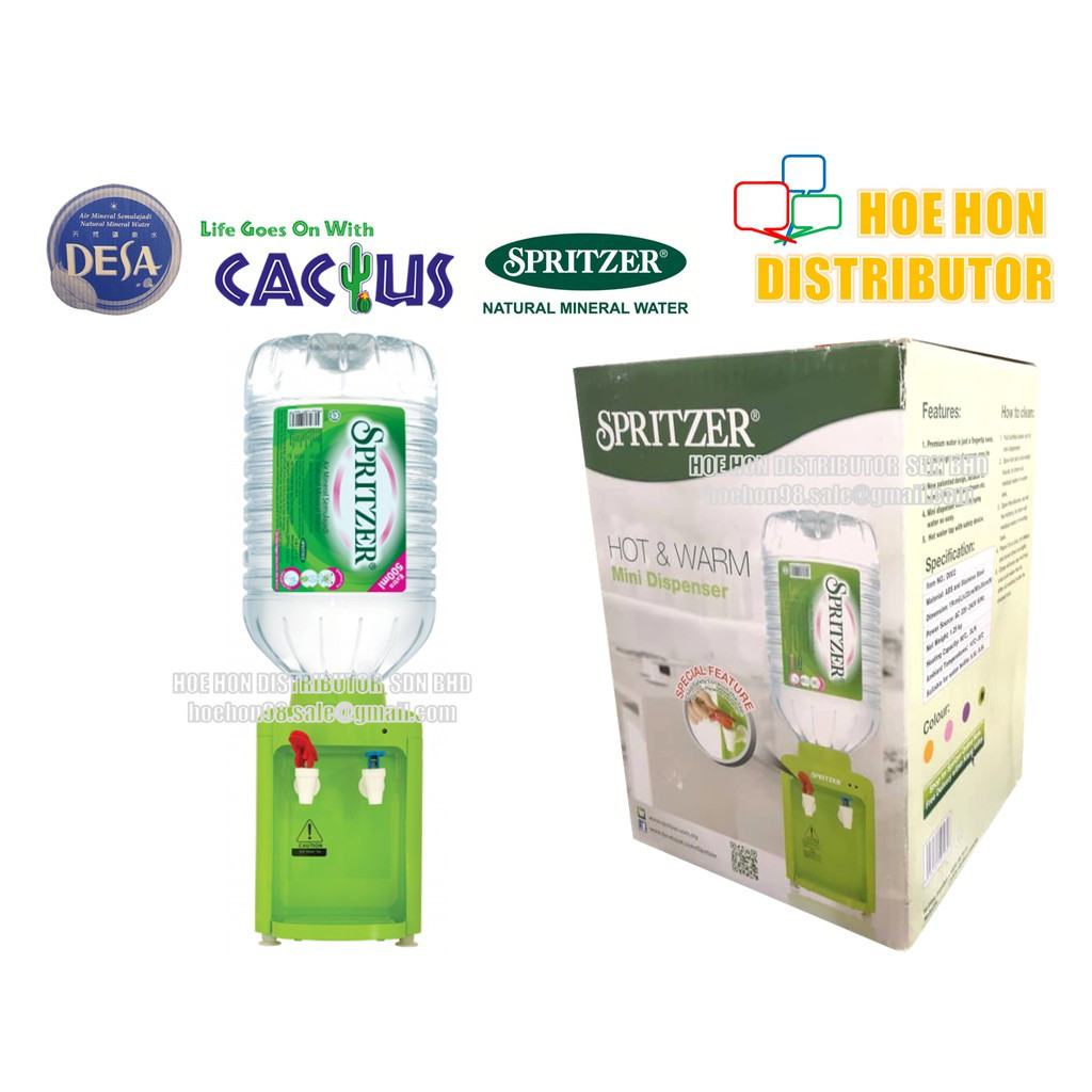 Spritzer Electric Hot & Warm Mineral Water Dispenser