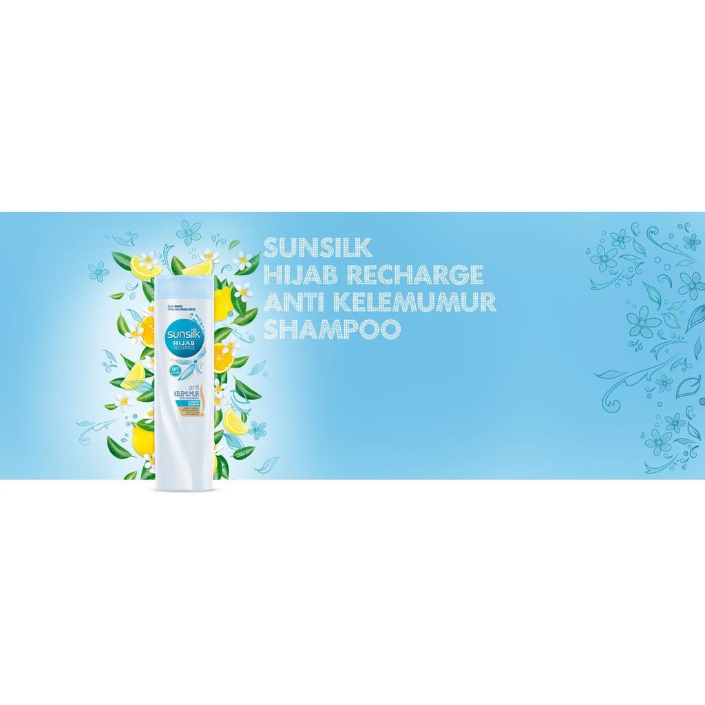 Sunsilk Shampoo Hijab Recharge 320ml Segar Anti Kelemumur Anti Rambut Gugur