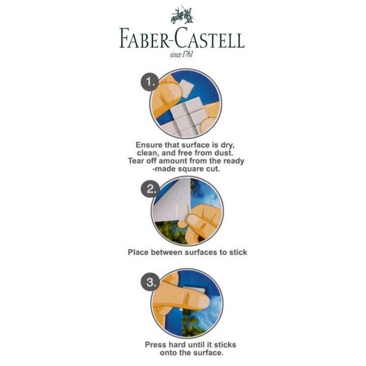 Faber-Castell Tack-It / Faber Castell Tack It Reusable Adhesive 42pcs Blue Tack