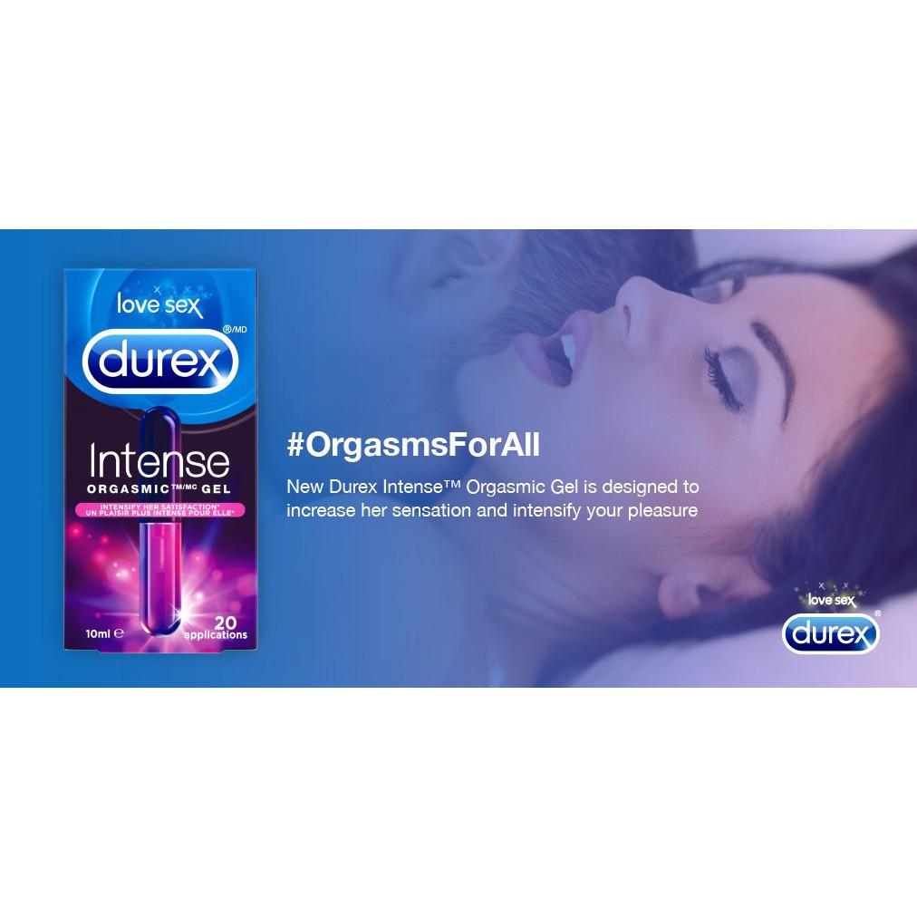 Durex Intense Orgasmic Gel 10ml / 20 Uses 8279123
