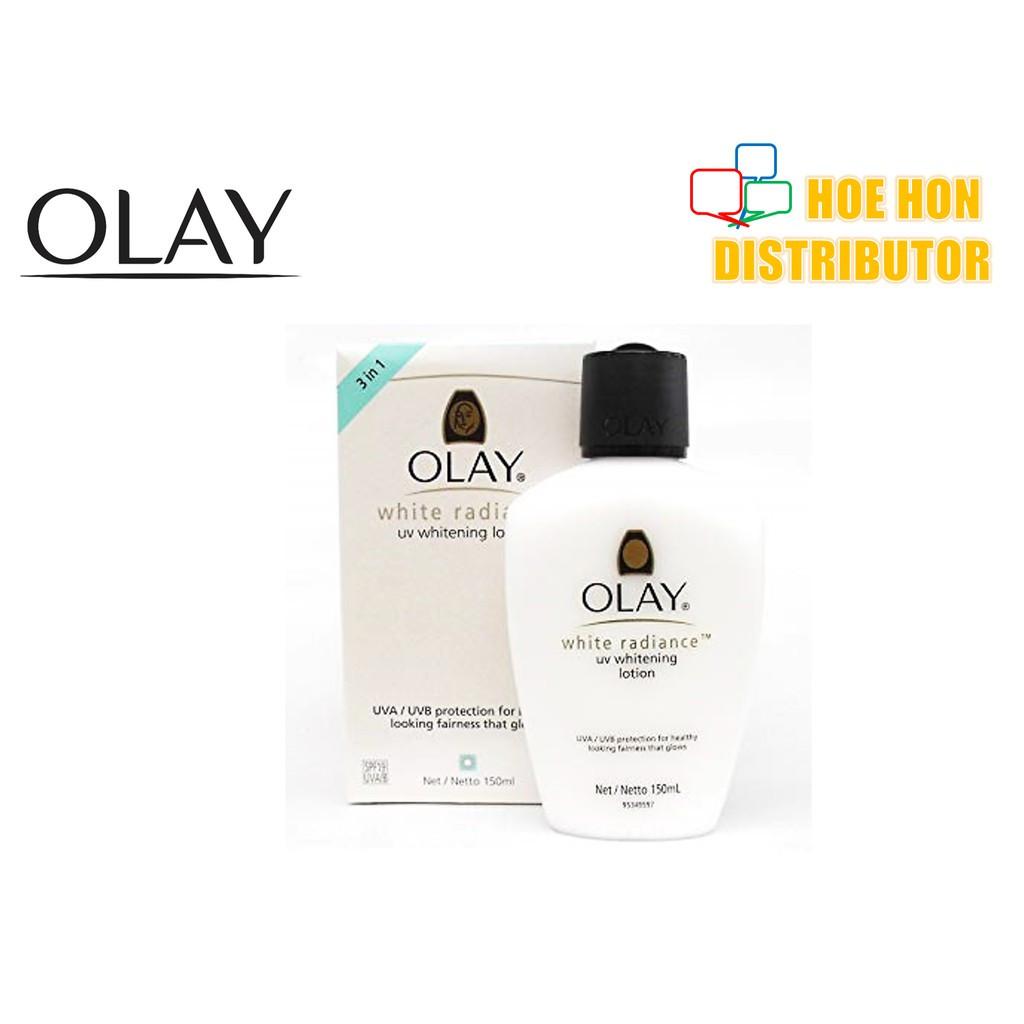 image of Olay White Radiance UV Whitening Lotion SPF 19 UVA / UVB 150ml