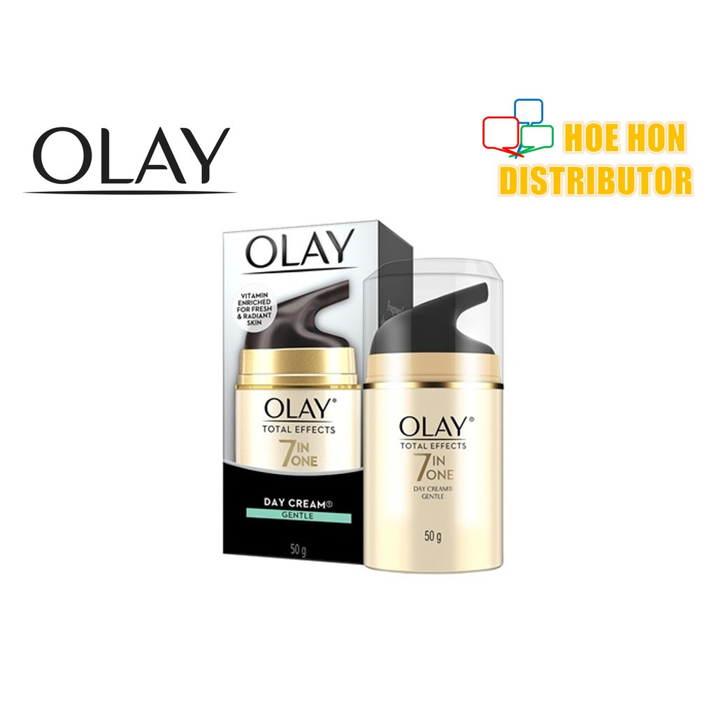 image of Olay Total Effect 7 In One Day Cream Gentle 50g
