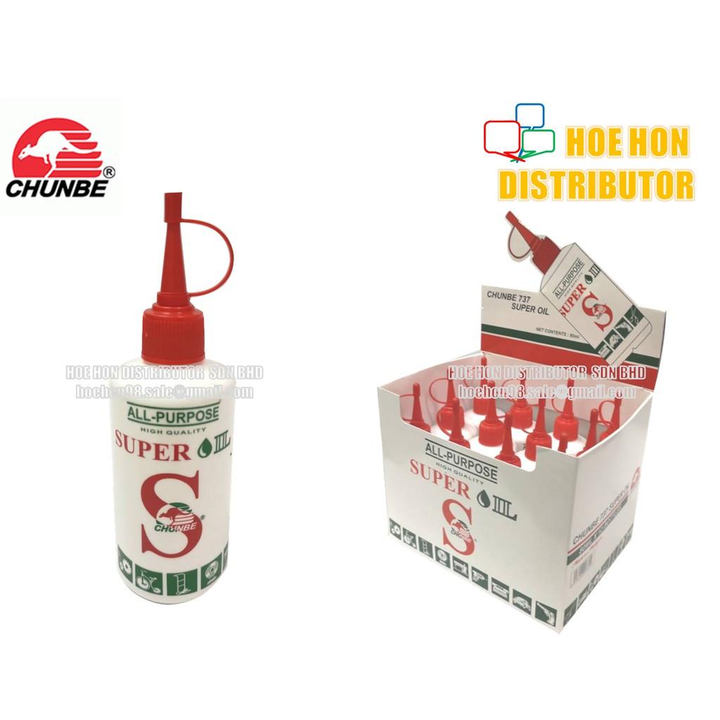 Chunbe All Purpose Super Oil 80ml / Minyak Machine (Singer Oil Alternative) 737