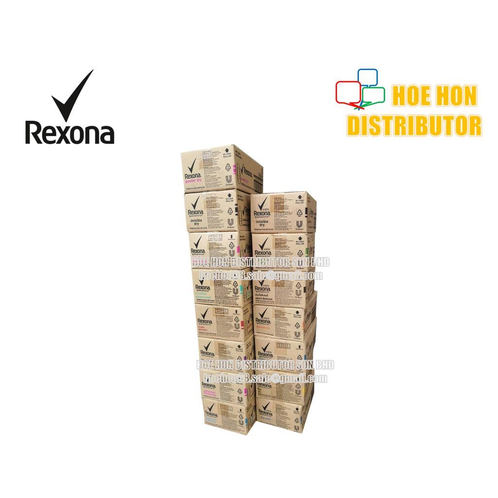 [Wholesales / Borong] Rexona Deodorant Roll On 50ml 24 Unit / Carton