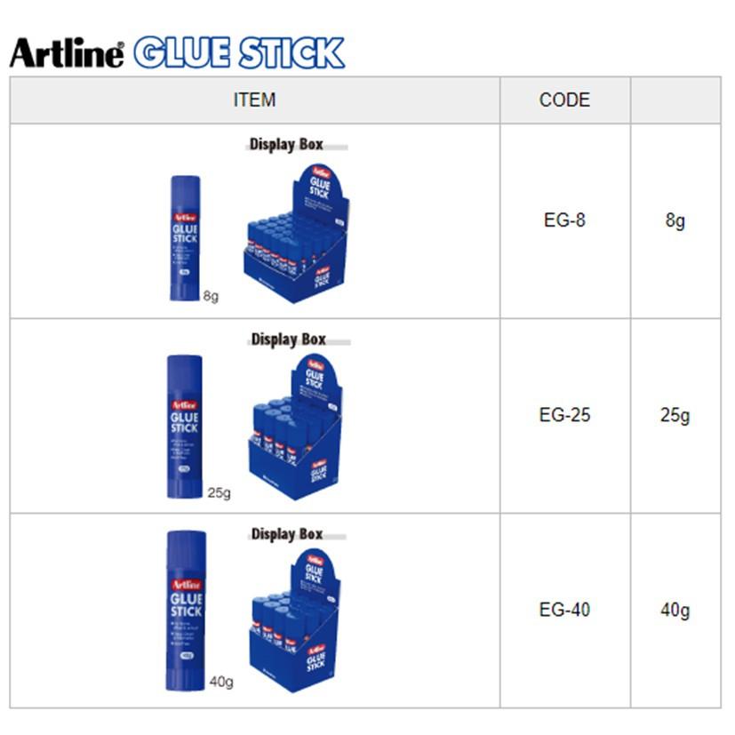 Artline Glue Stick / Gam Pekat 25g EG-25