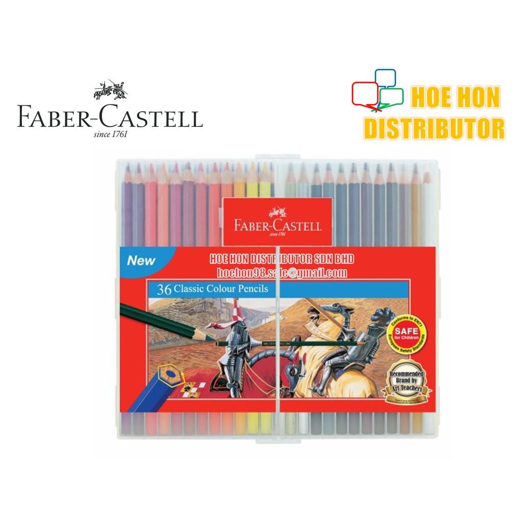 Faber-Castell / Faber Castell Slim Flexi Case Classic Colour Pencil 36 115898