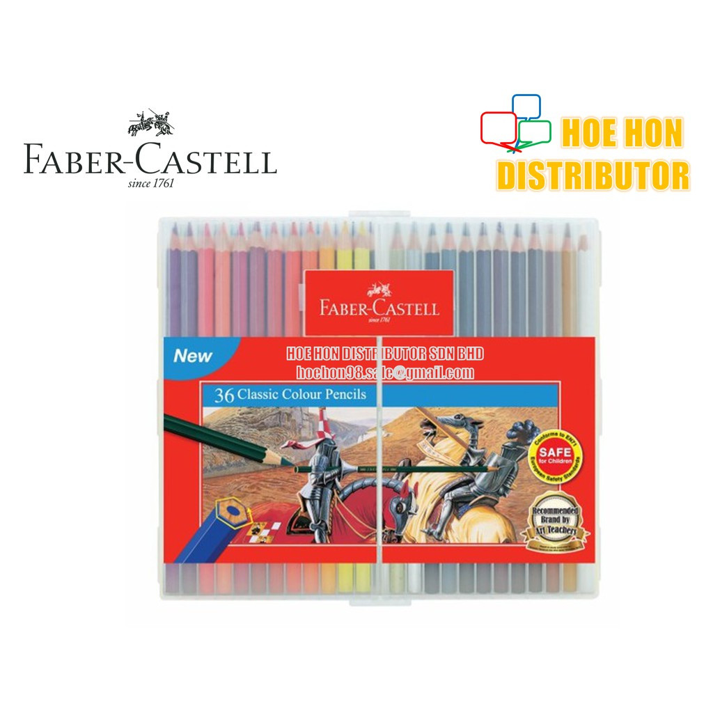 image of Faber-Castell / Faber Castell Slim Flexi Case Classic Colour Pencil 36 115898