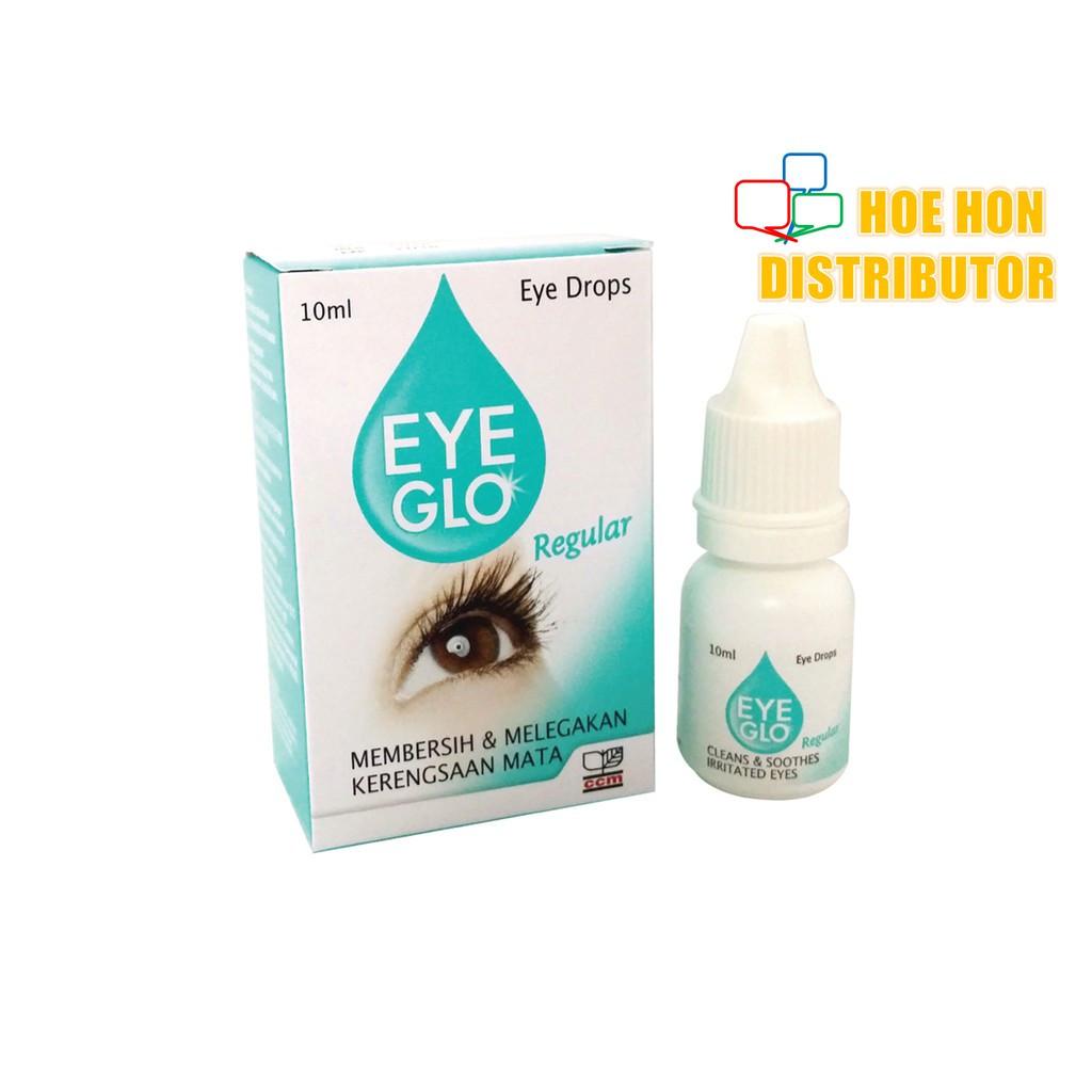 Eye Glo Green / Regular 10 Ml Green Ubat Mata, Eye Drop, Eye Mo