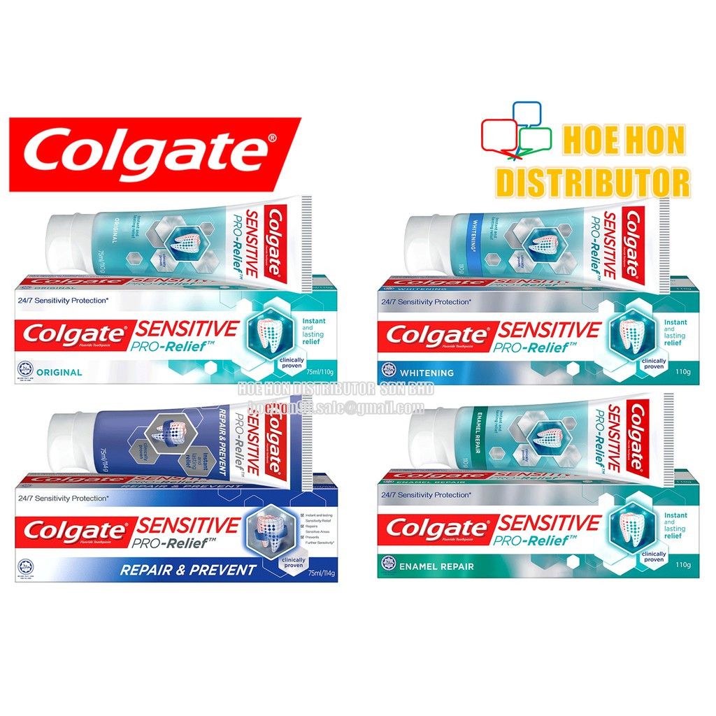 image of Colgate Sensitive Pro Relief Repair & Protect Complete Protection Whitening 110g