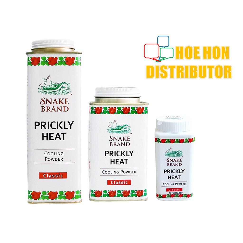 Snake Brand Classic Prickly Heat Cooling Powder / Talc Powder 50g 150g 300g