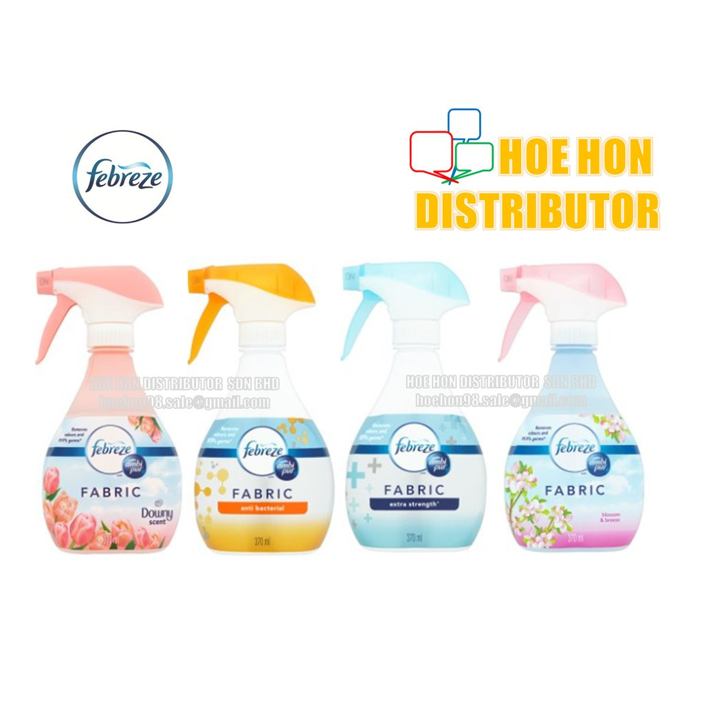 Febreze Fabric Refresher With Ambi Pur Spray 370ml / Penyegar Kain Febreze