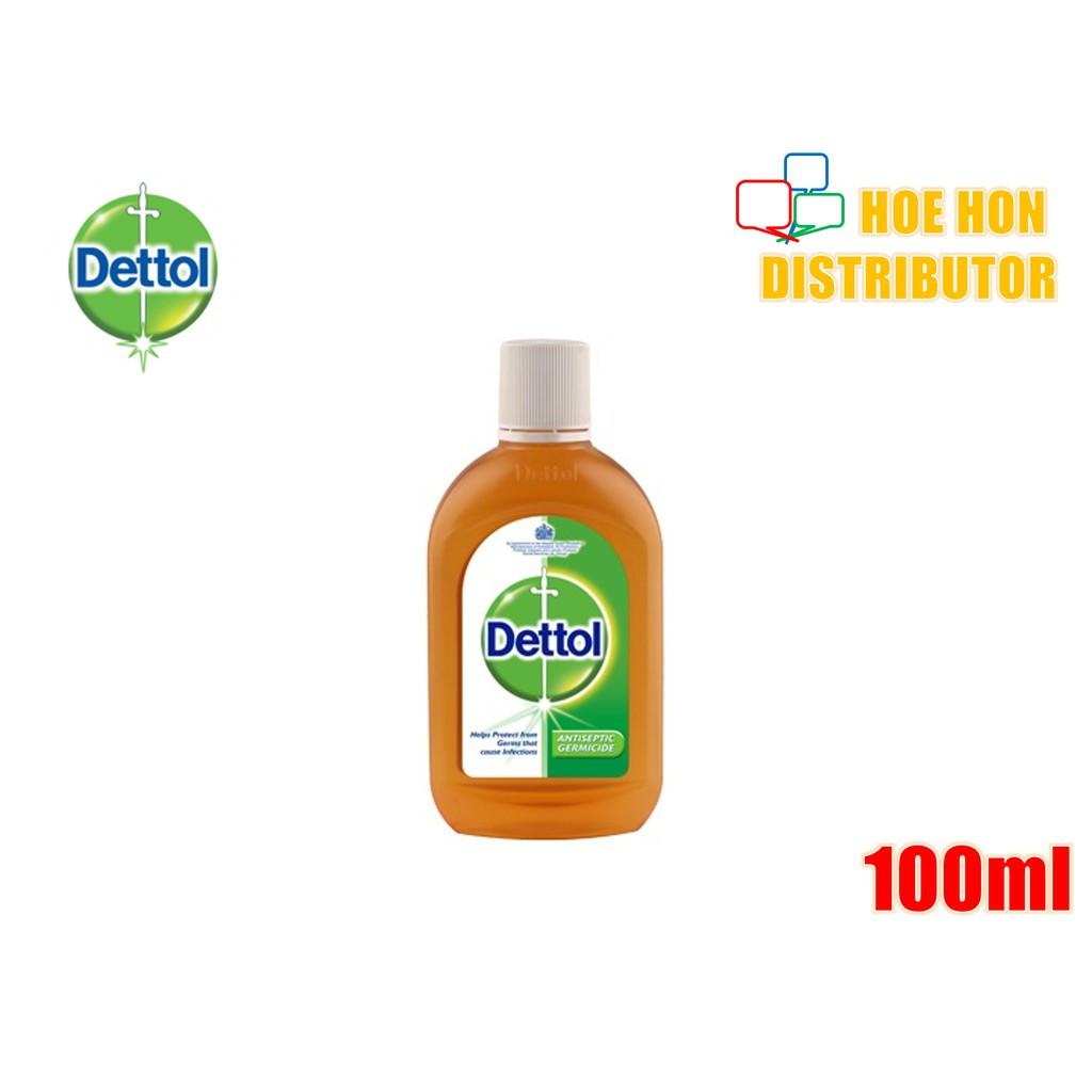 Dettol Antiseptic Liquid (First Aid / Travel Pack) Antiseptik Cair 100ml