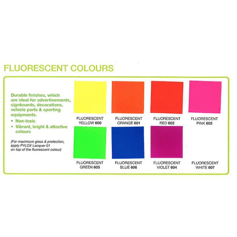 Fluorescent Colour Inkjet / Laser Printing A4 Matte Sticker Paper 10pcs / Pack